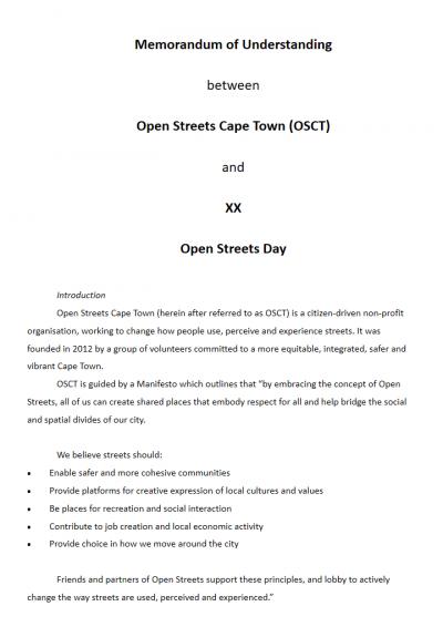 Example memorandum of understanding open streets cape town example memorandum of understanding altavistaventures Images