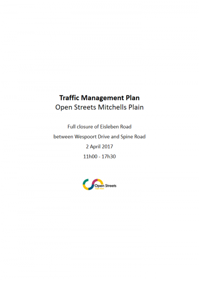 Example traffic management plan
