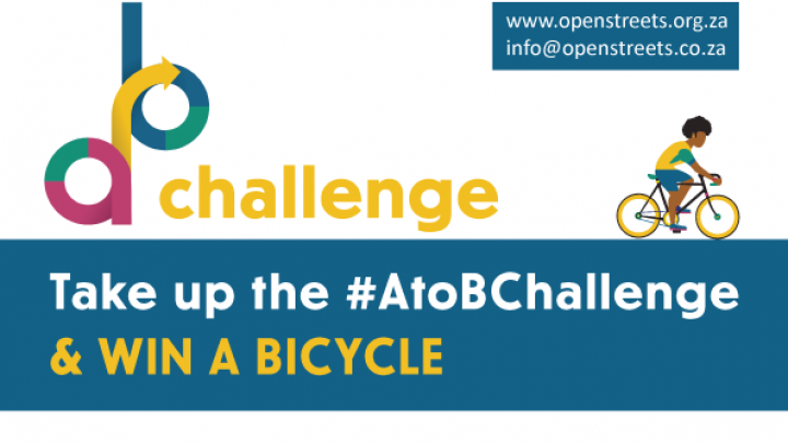 Take up the #AtoBChallenge and stand a chance to win a bike