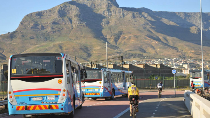MyCiTi Bus in Cape Town