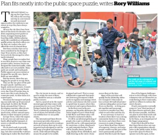 Cape Argus on Open Streets May 2013