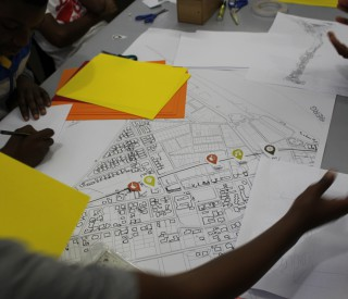 Children take the helm of Open Streets planning