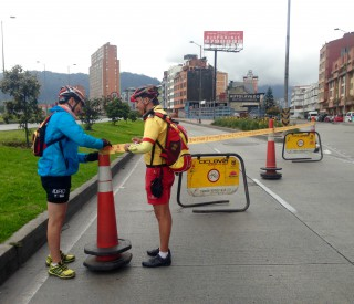 Ciclovia guardians