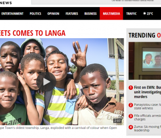 Open Streets Langa featured on Eyewitness News