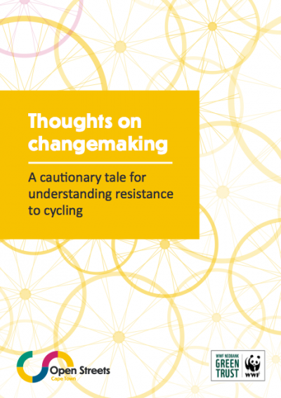 Policy brief: Thoughts on changemaking | A cautionary tale for understanding resistance to cycling